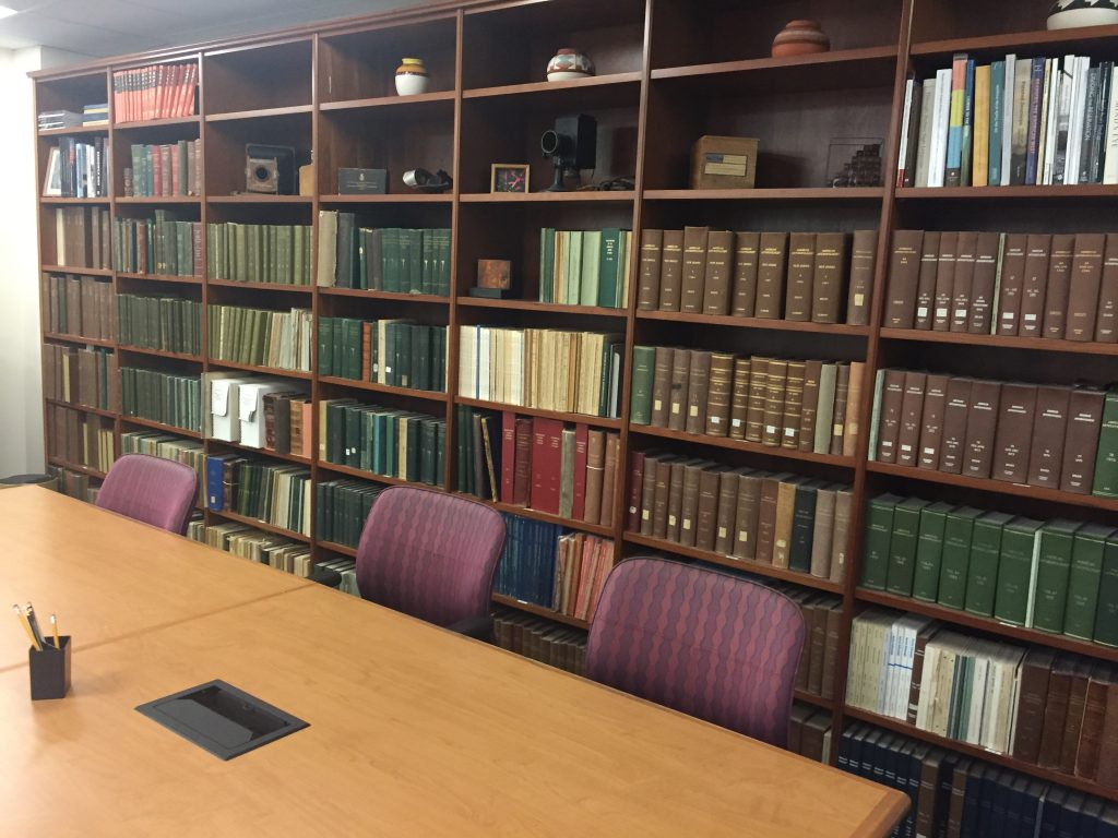 Reading Room in the National Anthropological Archives